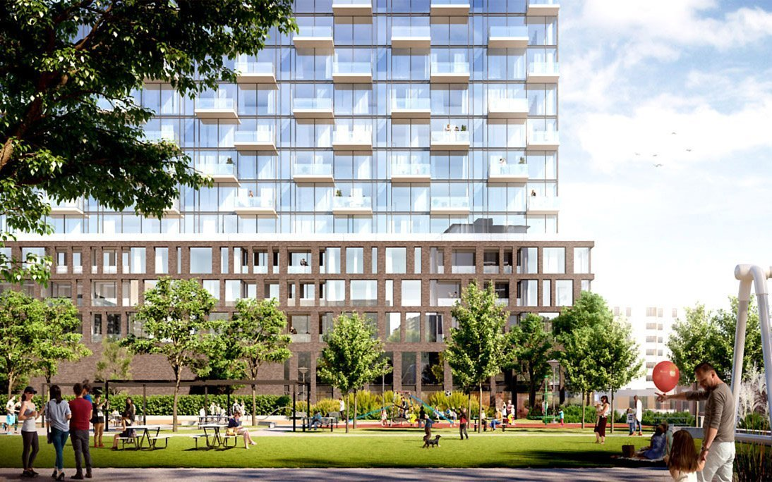 A lot of changes happening at King Dufferin and we see a lot of this growth that happened in Liberty Village,