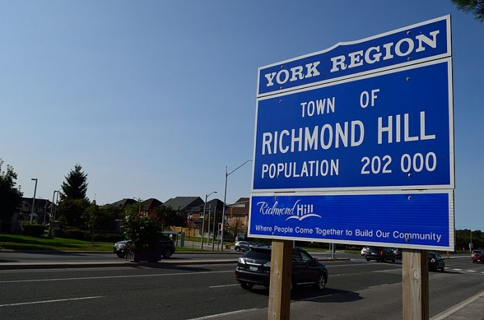 Richmond Hill Changes Status From Town To City