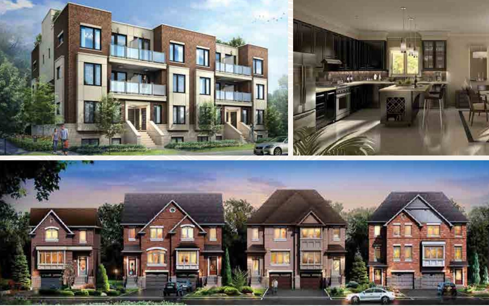 New Town Homes in Pickering Ontario